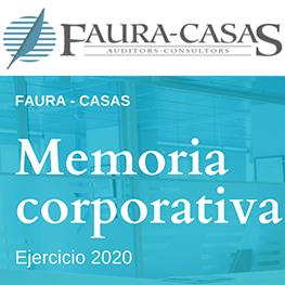 Memoria Corporativa 2020 Faura-Casas